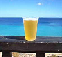 Beer in the sun by LemonMeringue