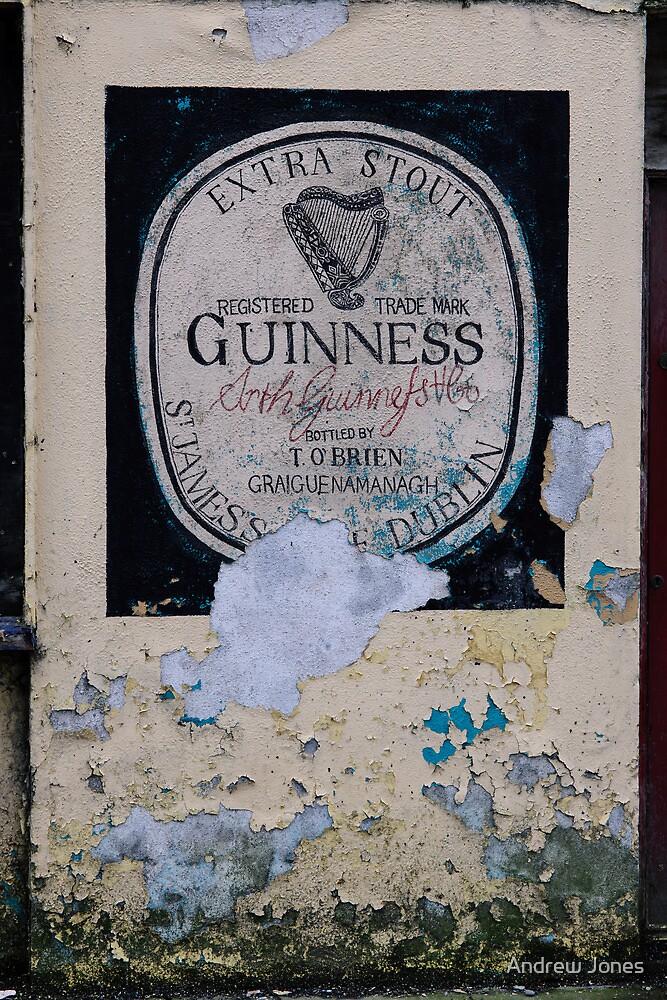 Mural on O'Brien's Bar, Graiguenamanagh, County Kilkenny, Ireland by Andrew Jones