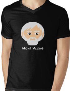 Obi Wan Kenobi - Move Along Mens V-Neck T-Shirt