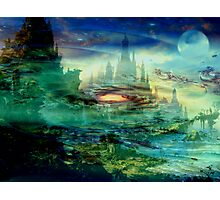 Galactic Temples  Photographic Print