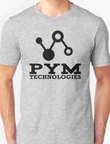 Pym Technologies Logo Black Unisex T-Shirt