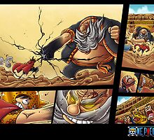 luffy vs don chinjao by carlson123