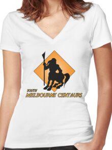 Centaur Shirt 1 Women's Fitted V-Neck T-Shirt