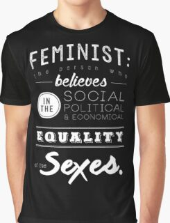 I AM A FEMINIST  Graphic T-Shirt