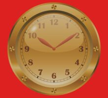 Golden Clock - Steampunk One Piece - Long Sleeve