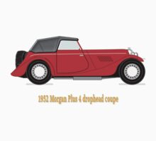 1952 Morgan Plus 4 drophead coupe T-shirt T-Shirt