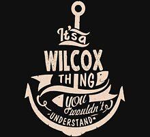 It's a WILCOX shirt Unisex T-Shirt