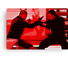 The Raid 2 Canvas Print