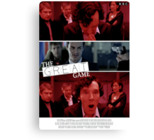 The Great Game Canvas Print