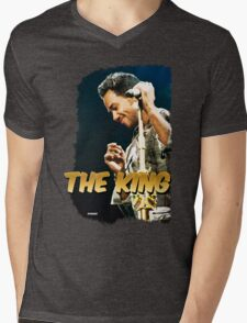 """THE KING"" of Bachata - Romeo Santos Mens V-Neck T-Shirt"