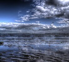 East Mersea Tide by Nigel Bangert