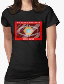 Emergency matrix Womens Fitted T-Shirt