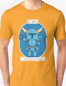 The Chivalrous & Dig-Able T-Shirt