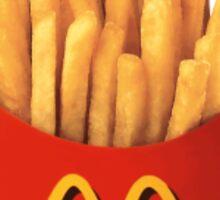 Mcdonalds Chips/Fries Sticker