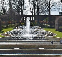 Fountains at Alnwick Gardens by daran6795