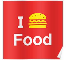I heart Food Poster