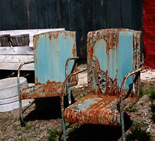 Chair Blossoms  by ArtbyDigman