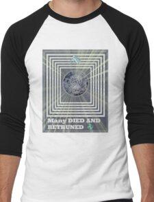 many retruned Men's Baseball ¾ T-Shirt