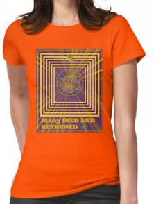 many retruned Womens Fitted T-Shirt