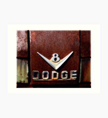 1956 Dodge V8 Art Print