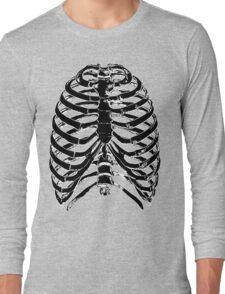 Human Anatomy: Rib Cage v2 Long Sleeve T-Shirt