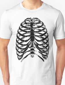 Human Anatomy: Rib Cage v2 Unisex T-Shirt