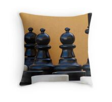 Checkers Or Chess...... Throw Pillow