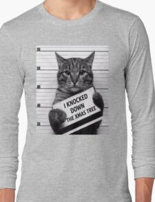 This would be My Cat Long Sleeve T-Shirt