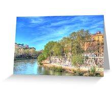 Sweep of the Tiber Greeting Card
