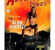 Adventure Stories the Alien Huntress by simonbreeze
