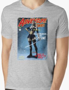 Adventure Stories The Dream Warriors of the Asylum Mens V-Neck T-Shirt