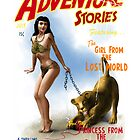 Adventure Stories The Girl from the Lost World by simonbreeze