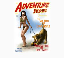 Adventure Stories The Girl from the Lost World Unisex T-Shirt