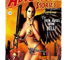 Adventure Stories the Iron Angel from Hell by simonbreeze