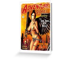 Adventure Stories the Iron Angel from Hell Greeting Card