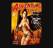 Adventure Stories the Iron Angel from Hell T-Shirt