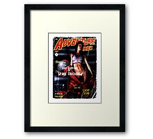 Adventure Stories the Sole Survivor of the Space Truckers Framed Print