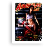 Adventure Stories the Sole Survivor of the Space Truckers Canvas Print
