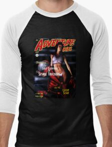 Adventure Stories the Sole Survivor of the Space Truckers Men's Baseball ¾ T-Shirt