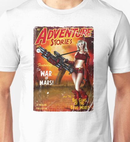Adventure Stories The War of Mars Unisex T-Shirt