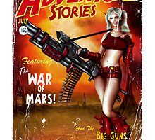 Adventure Stories The War of Mars by simonbreeze