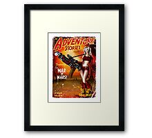 Adventure Stories The War of Mars Framed Print