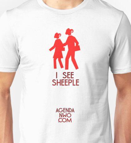I See Sheeple Unisex T-Shirt