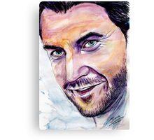 Richard ARMITAGE  welcome back Canvas Print
