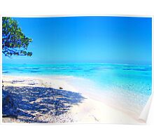 Remote Island Paradise  Poster