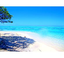 Remote Island Paradise  Photographic Print
