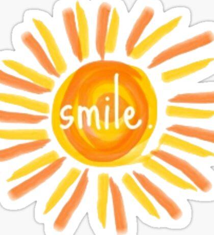 'Smile' Sunshine Sticker