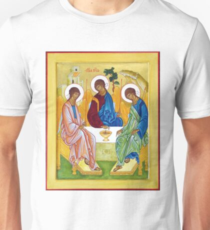 Icon - Peter, James and John Trinity  Unisex T-Shirt