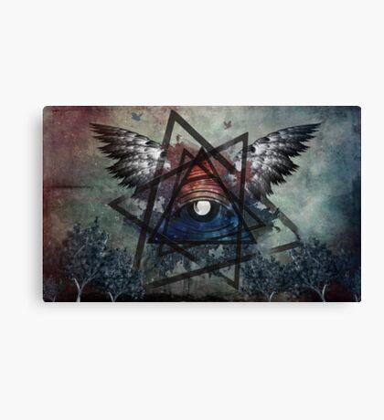 Illuminati Symbolism Canvas Print