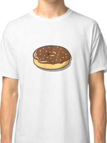 Chocolate Donut with Sprinkles Classic T-Shirt